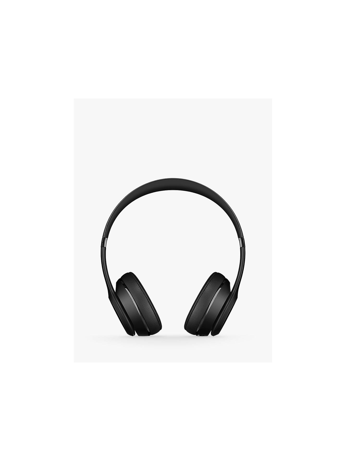 Beats Solo Wireless Bluetooth On Ear Headphones With Mic Remote At John Lewis Partners