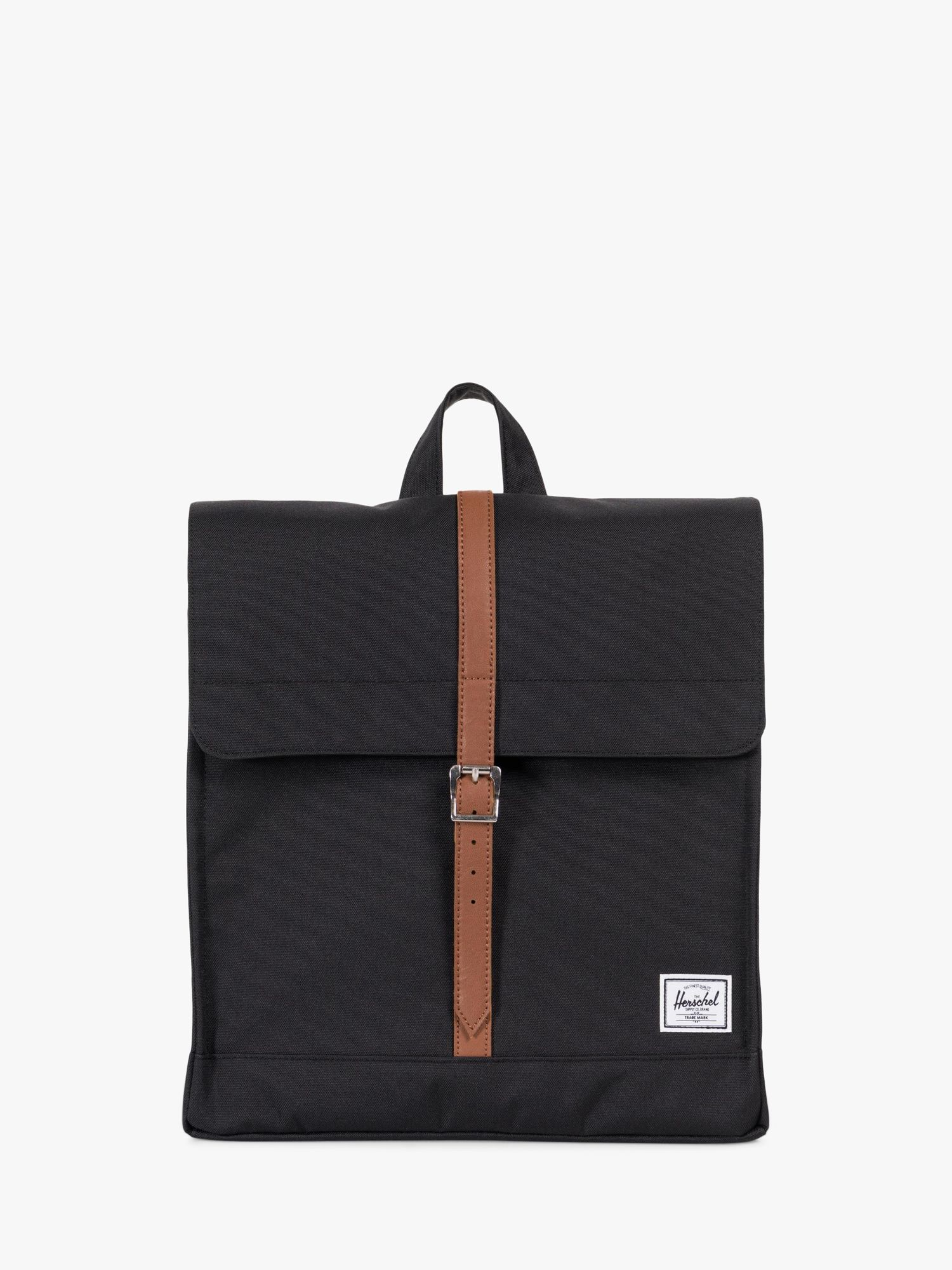 Herschel Supply Co. Herschel Supply Co. City Mid-Volume Backpack, Black/Tan