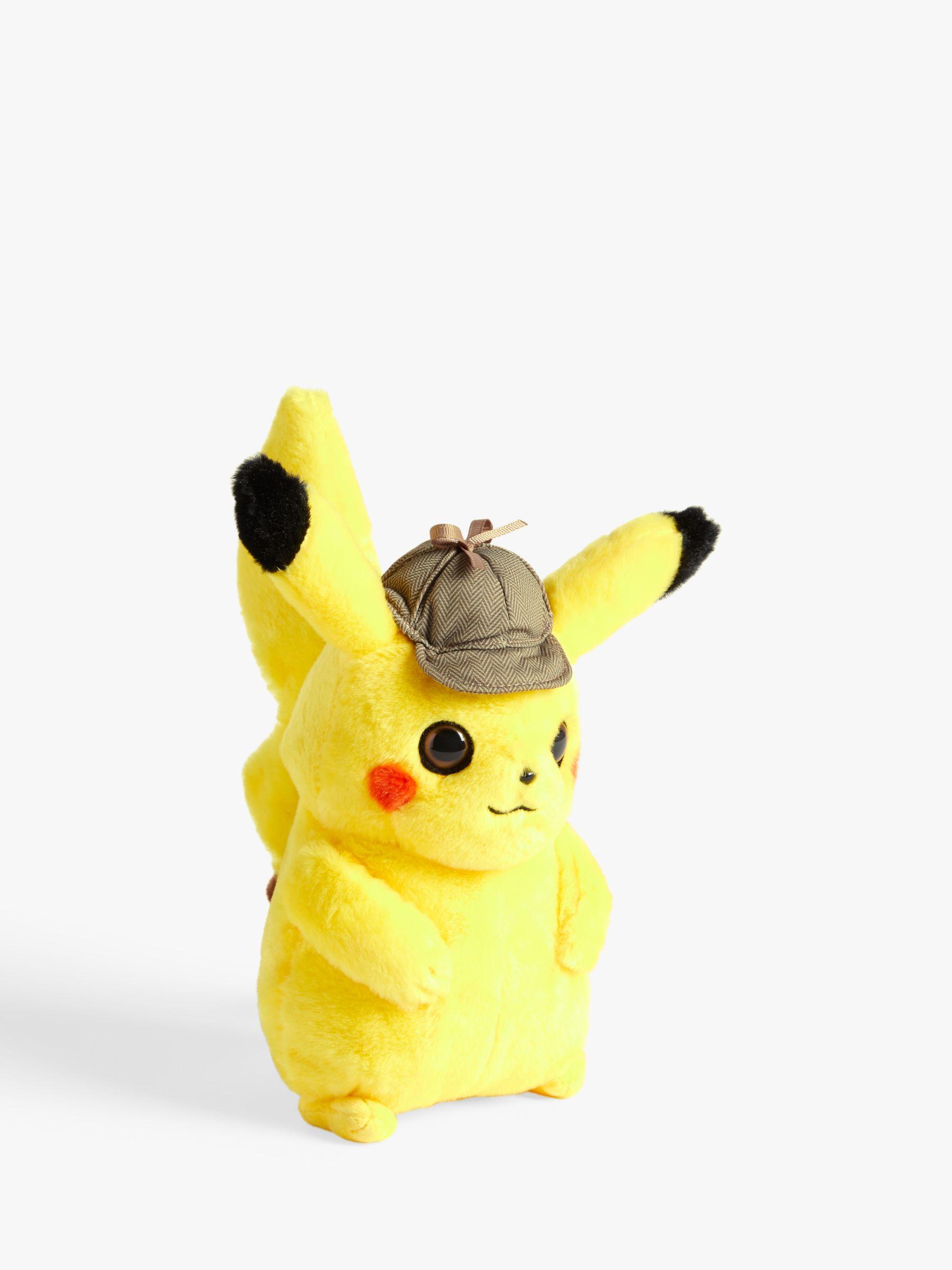 pokemon detective pikachu plush doll kit