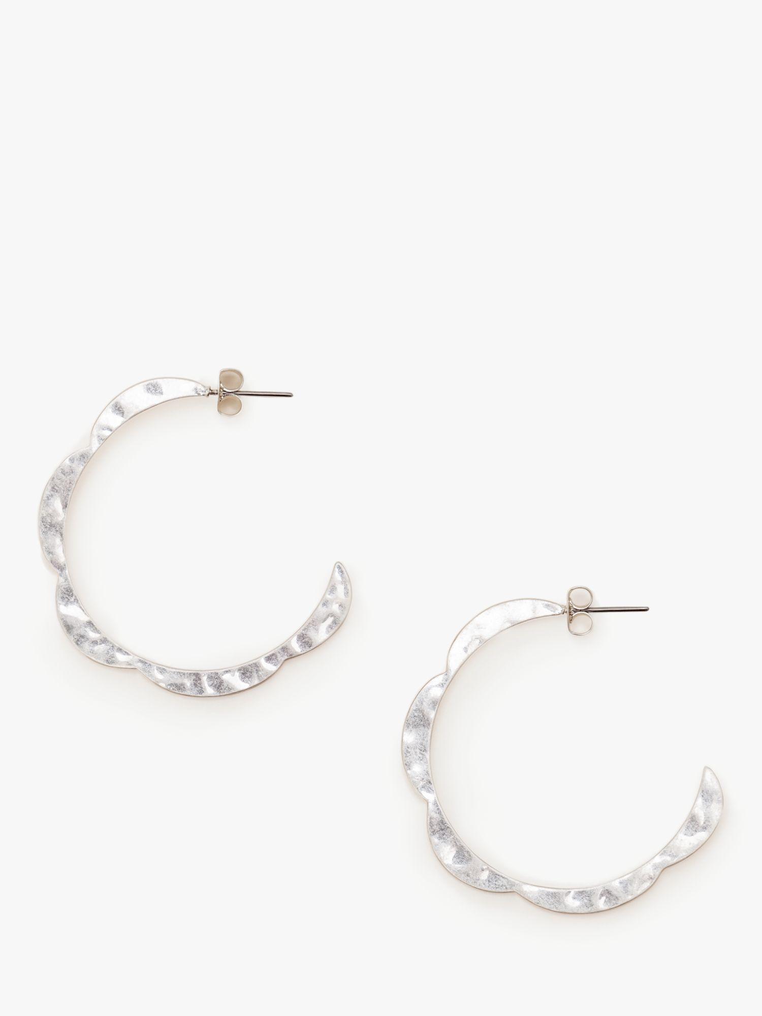 Boden Boden Scallop Hoop Earrings