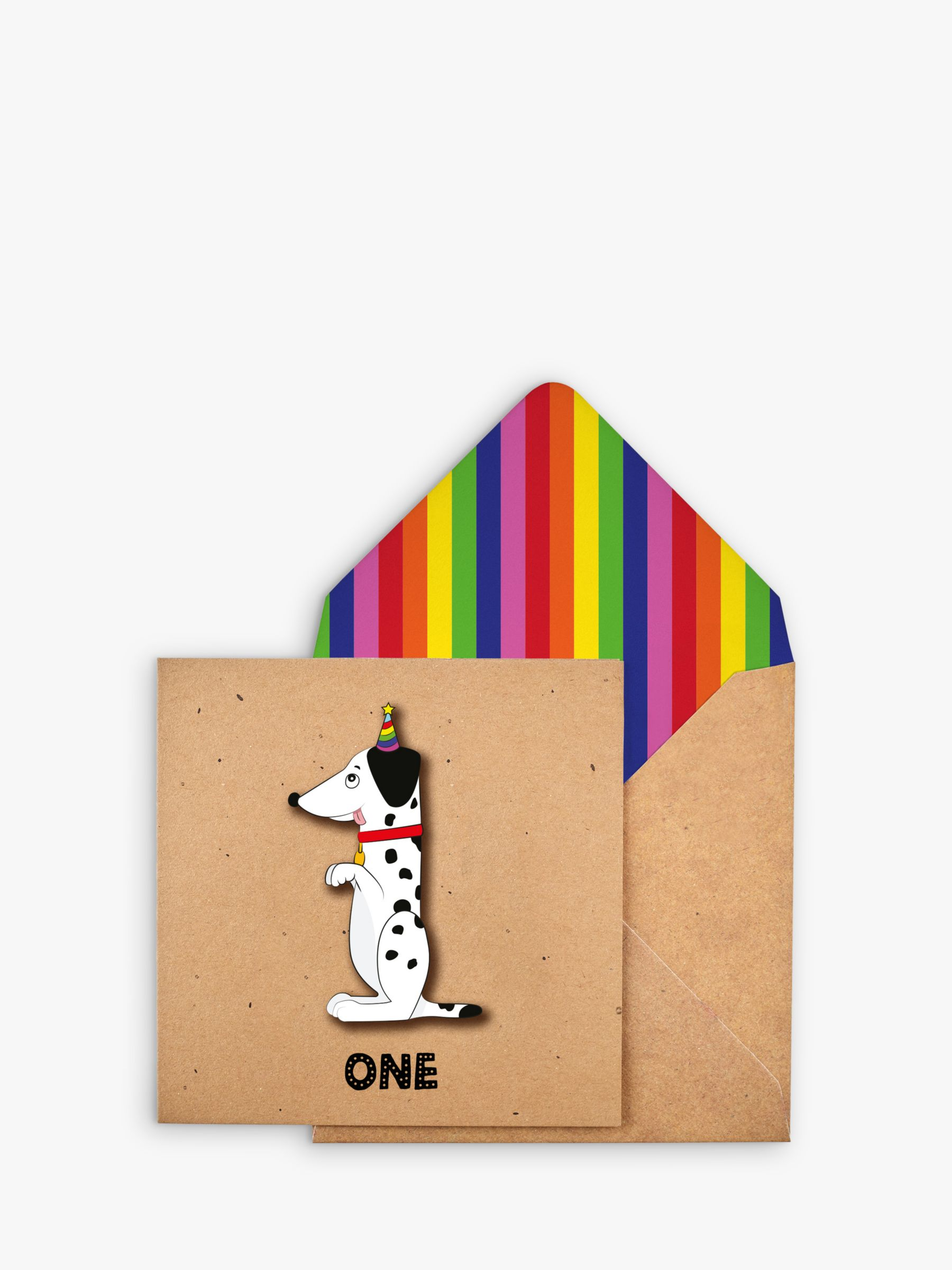 Tache Crafts Tache Crafts Dog 1st Birthday Card