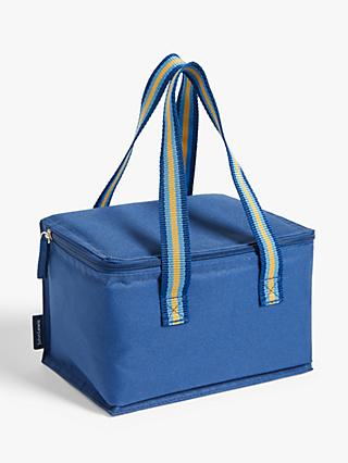 House by John Lewis Picnic Lunch Cooler Bag, 4L, Blue