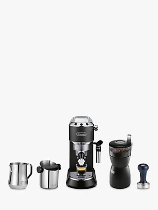De'Longhi Dedica Coffee Machine Bundle