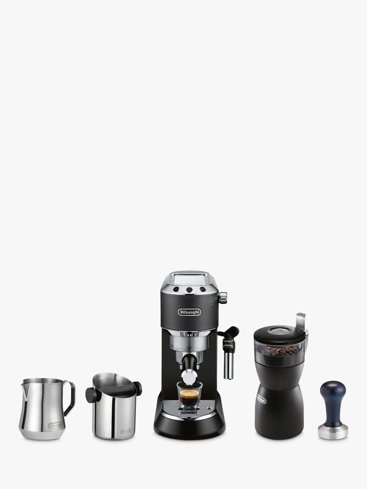 Delonghi De'Longhi Dedica Coffee Machine Bundle