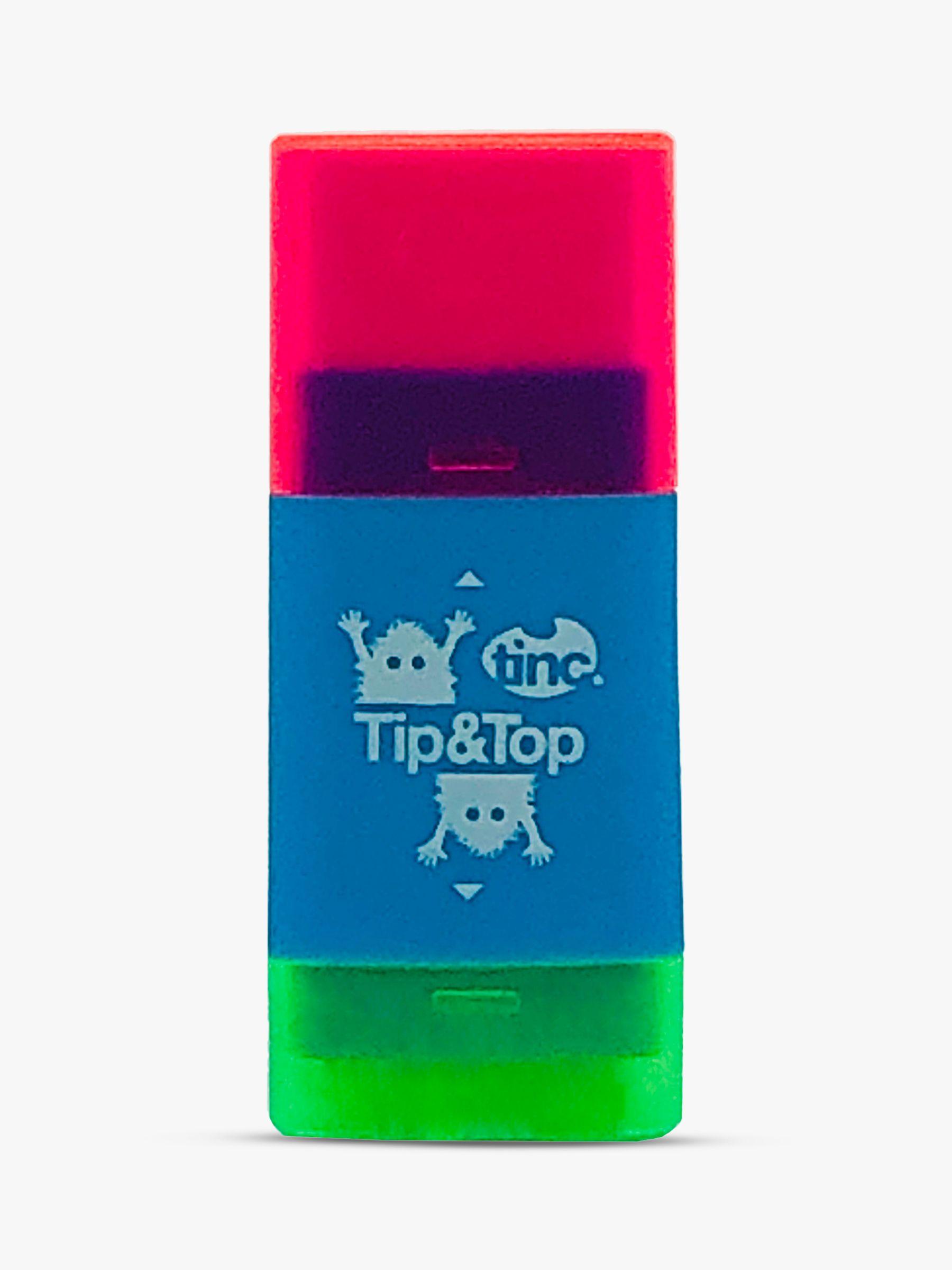 Tinc Tinc Tip n Top Eraser & Sharpener
