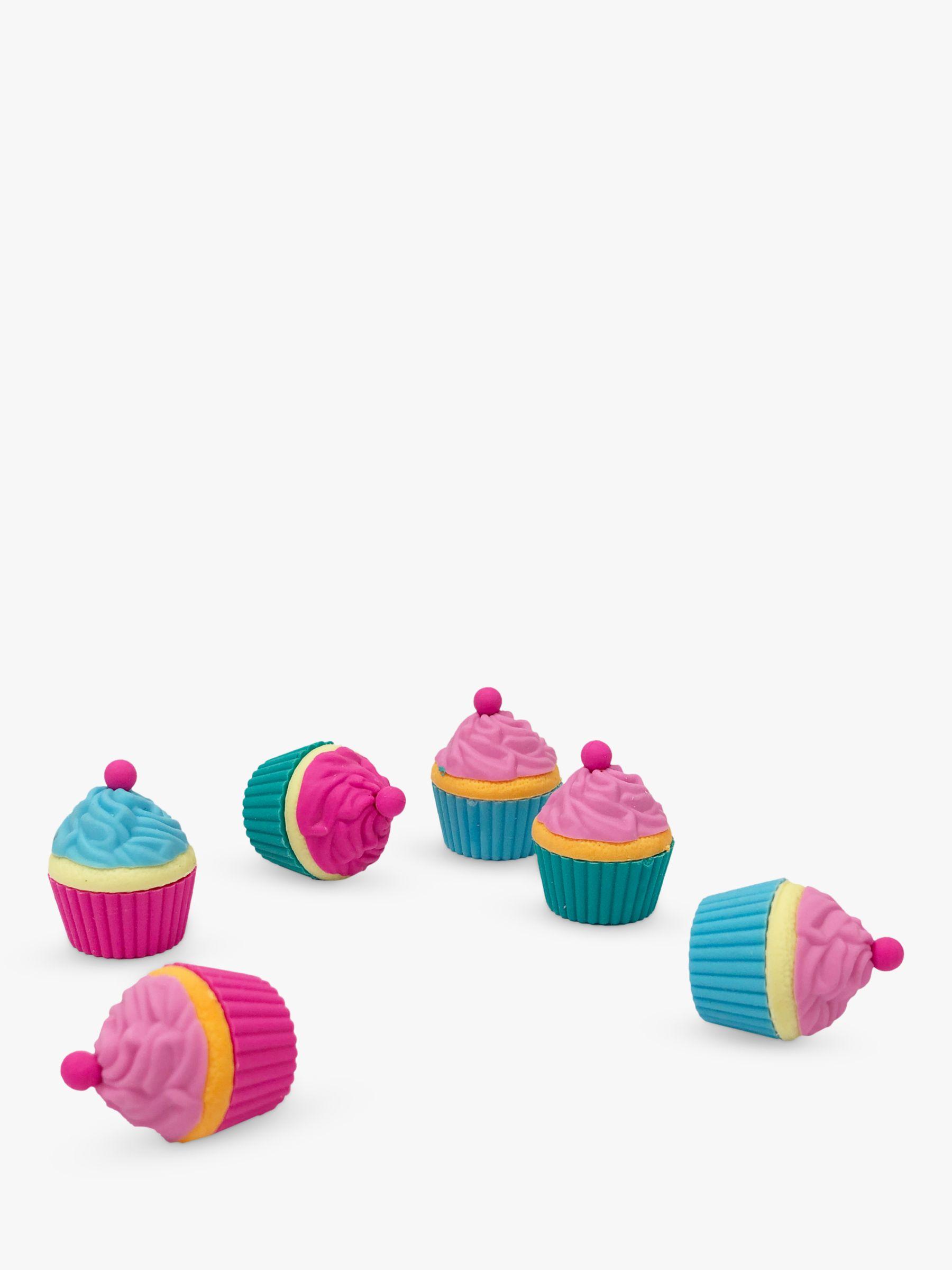 Tinc Tinc Cupcake Erasers, Set of 6