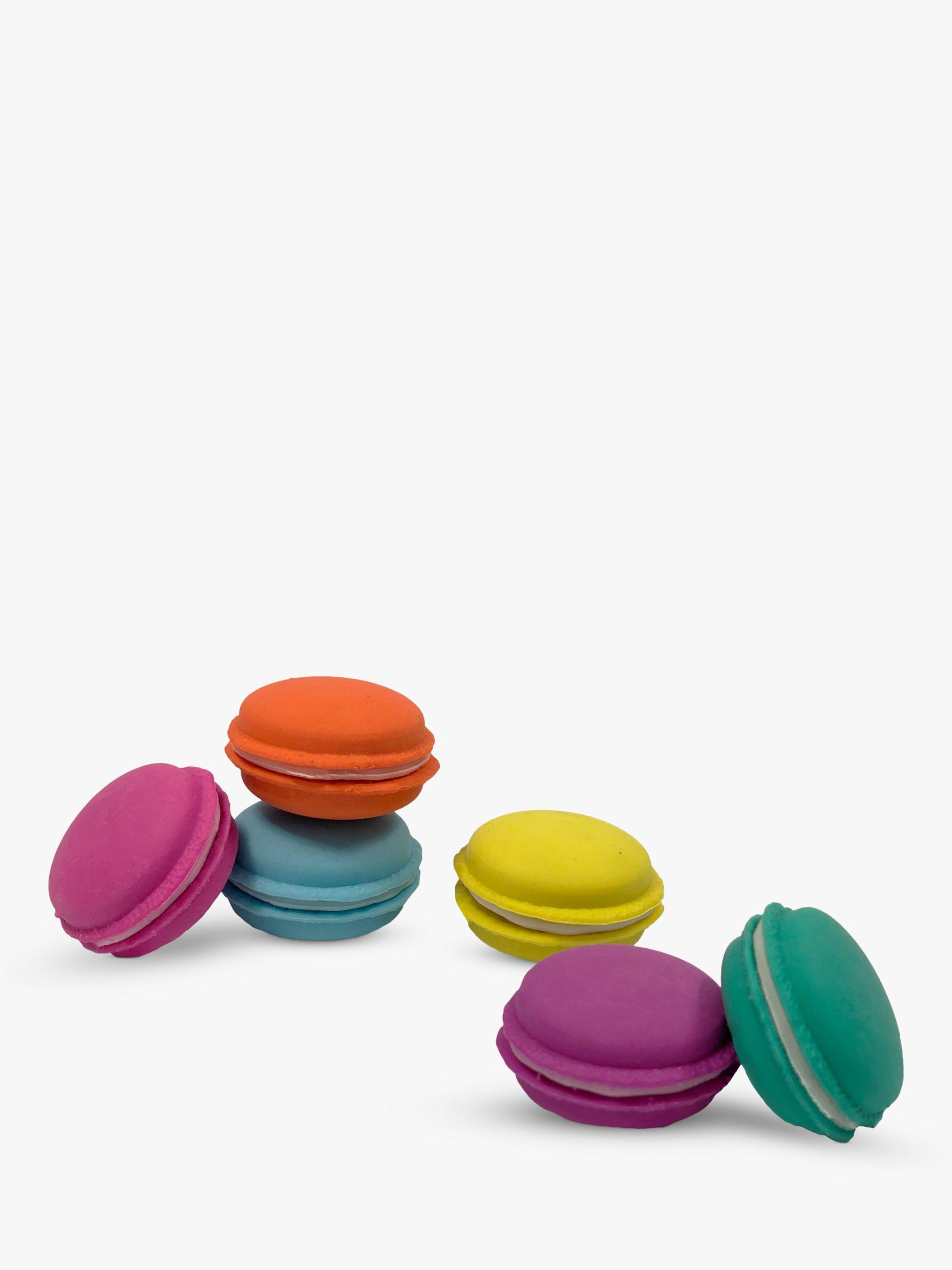 Tinc Tinc Macaroon Erasers, Set of 6