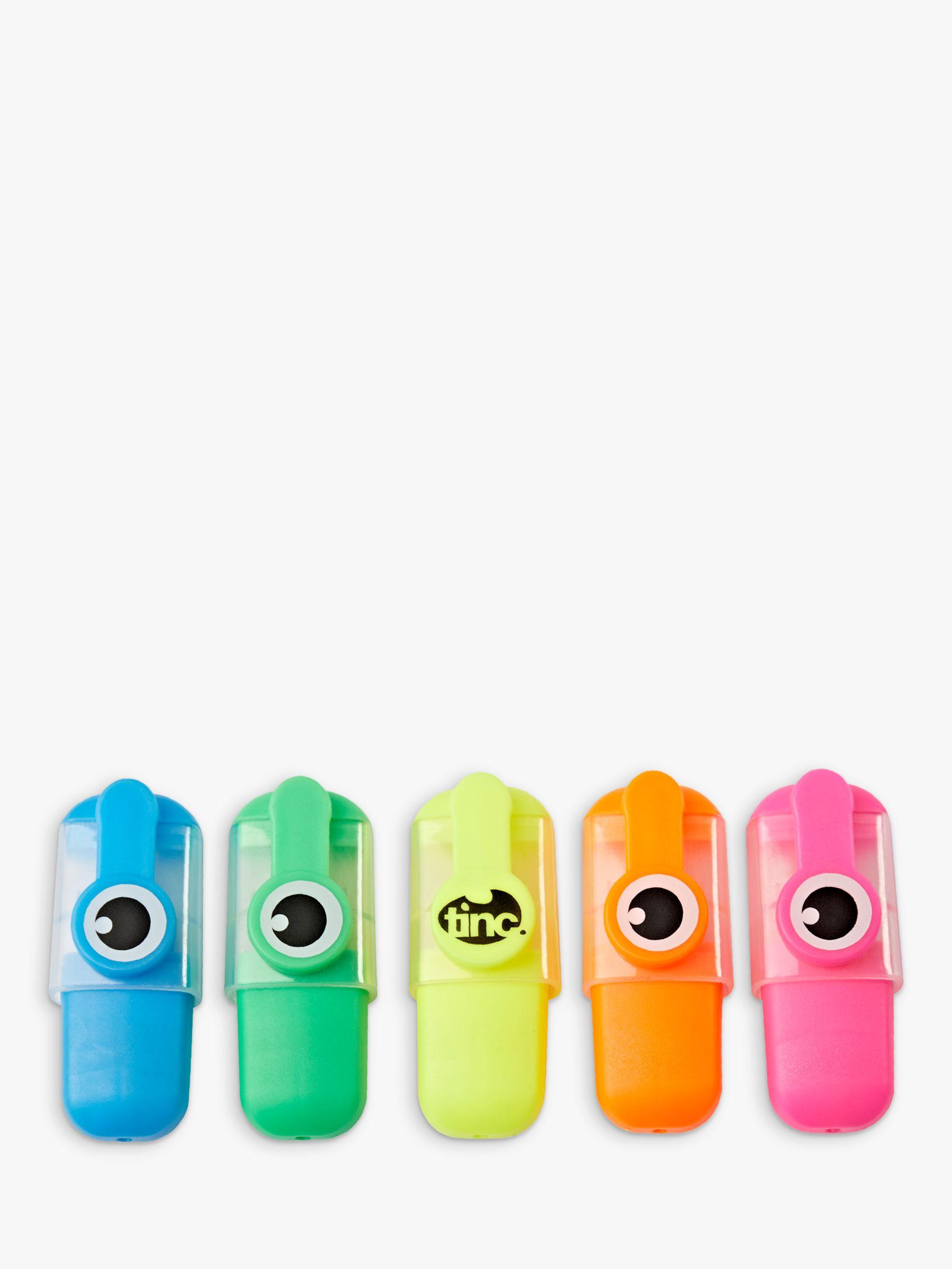 Tinc Tinc Mini Highlighters, Set of 5
