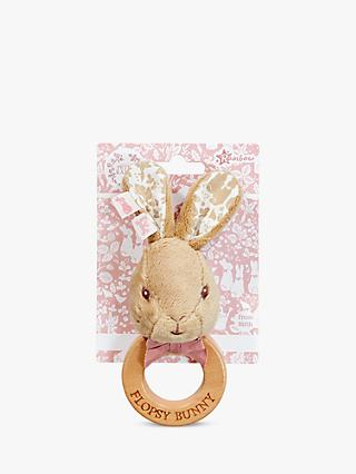 Peter Rabbit Flopsy Bunny Ring Rattle