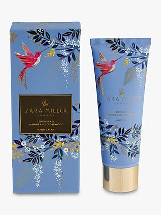 Sara Miller Lemongrass, Jasmine & Cedarwood Hand Cream, 75ml