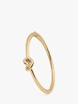 kate spade new york Loves Me Knot Thin Open Cuff