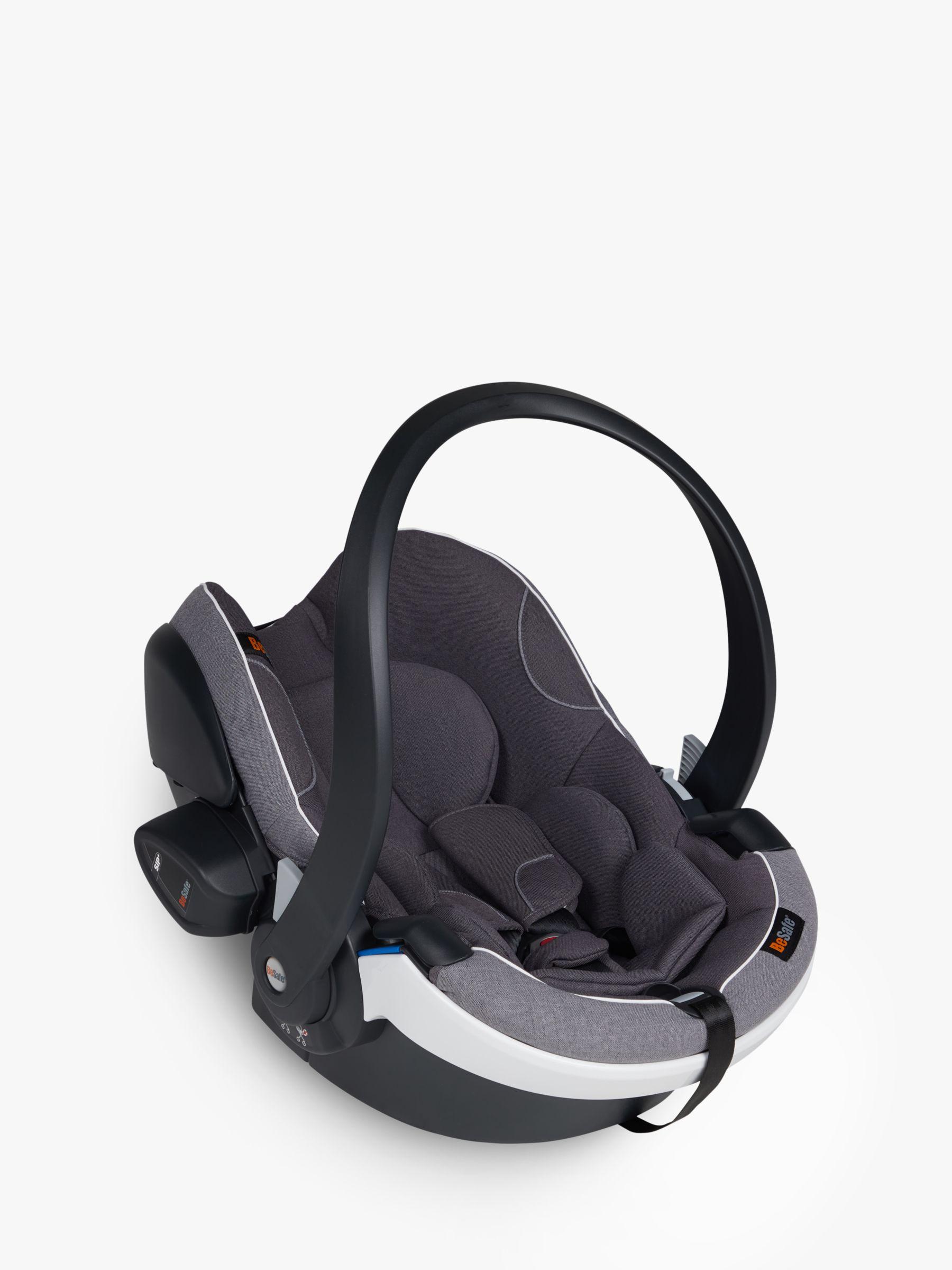 BeSafe BeSafe iZi Go Modular X1 i-Size Baby Car Seat, Metallic Melange