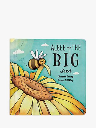 Jellycat Albee and The Big Seed Children's Book