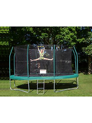 JumpKing 8 x 11.5ft Oval Trampoline