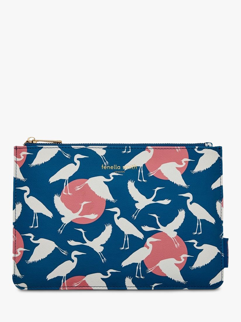 Fenella Smith Fenella Smith National Trust Heron Clutch Bag