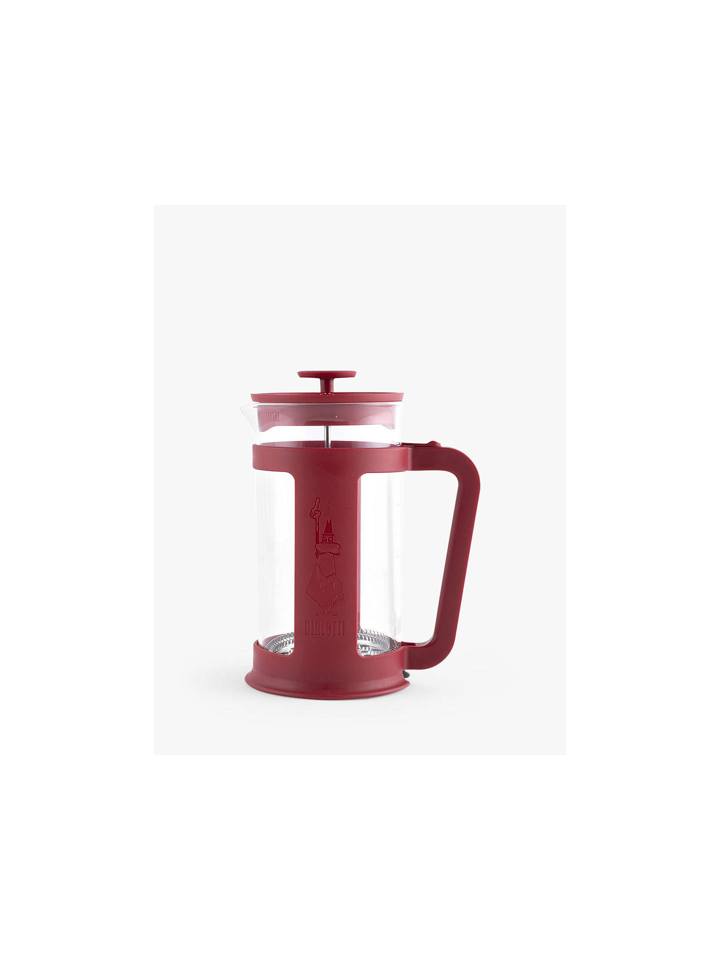 Bialetti 8 Cup Coffee Cafetiere 1l Red