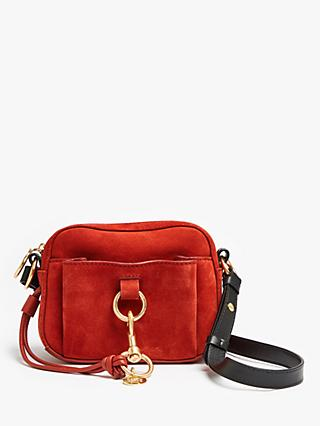 See By Chloé Tony Suede Cross Body Camera Bag