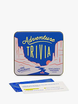 Gentlemen's Hardware Adventure Trivia Game