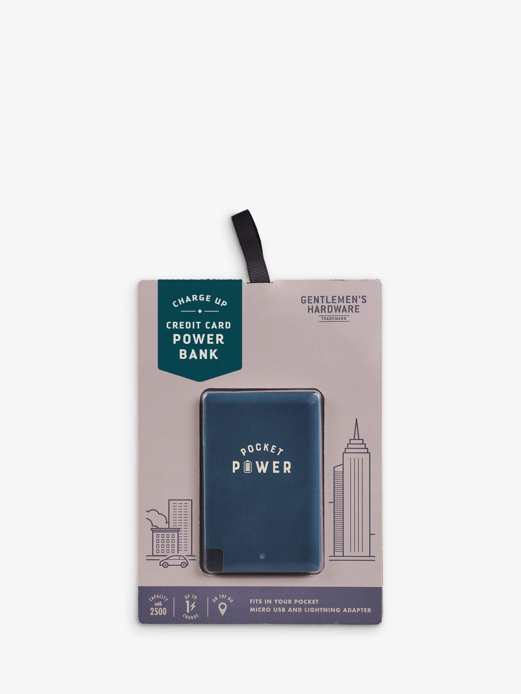 Gentlemen's Hardware Gentlemen's Hardware Card Sized Power Bank