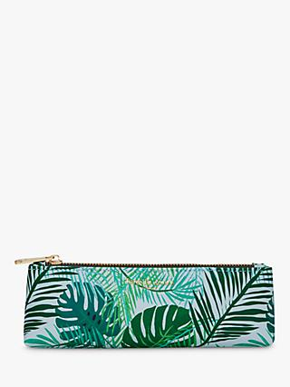 Fenella Smith Green Palm Pencil Case