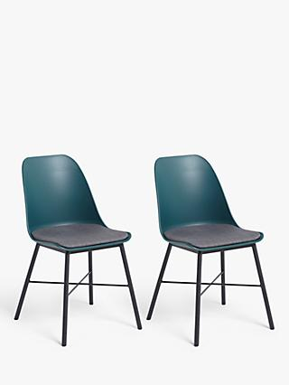 ANYDAY John Lewis & Partners Whistler Dining Chairs, Set of 2, Evergreen
