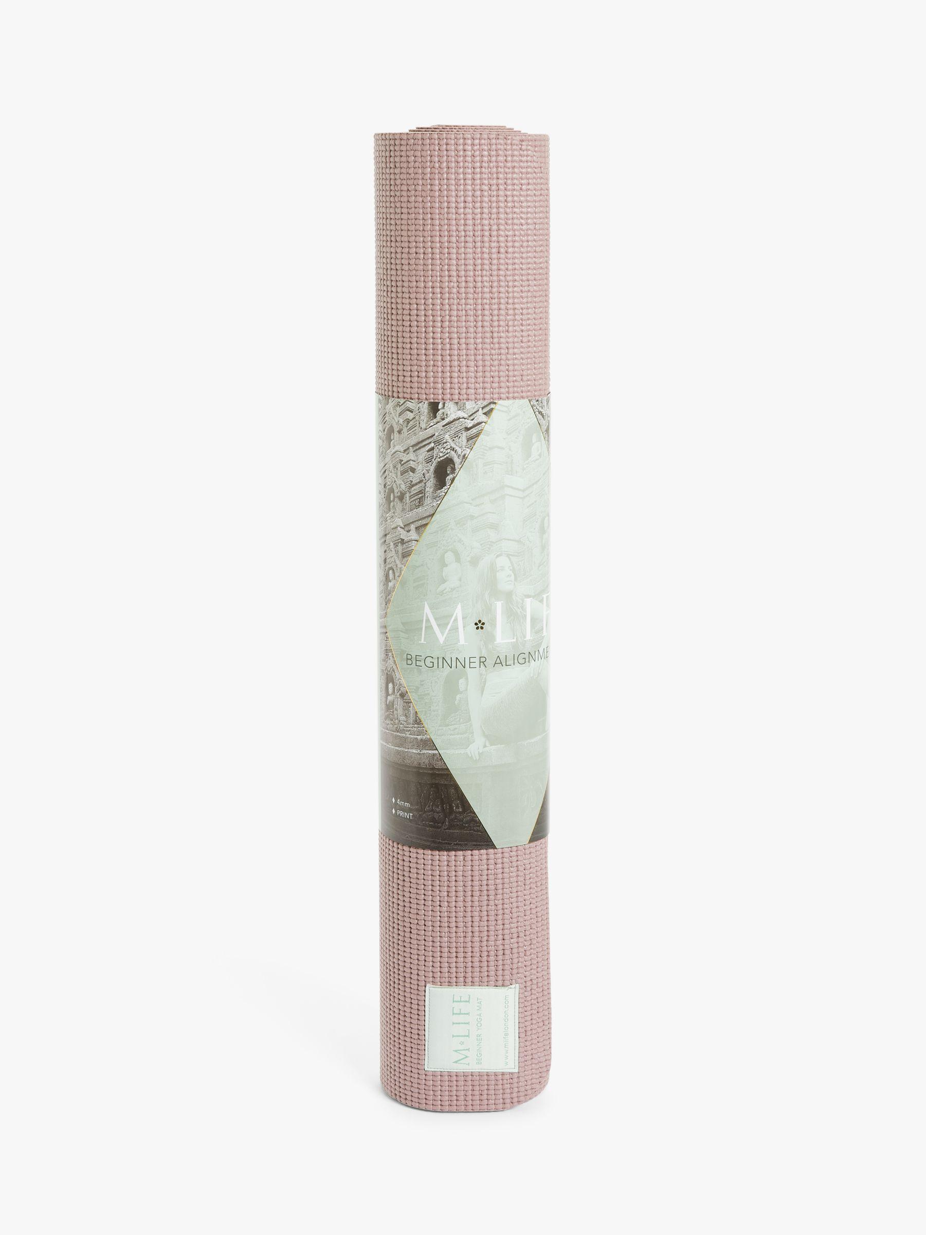 M Life M Life Mendhi 5mm Yoga Mat, Dusk Pink