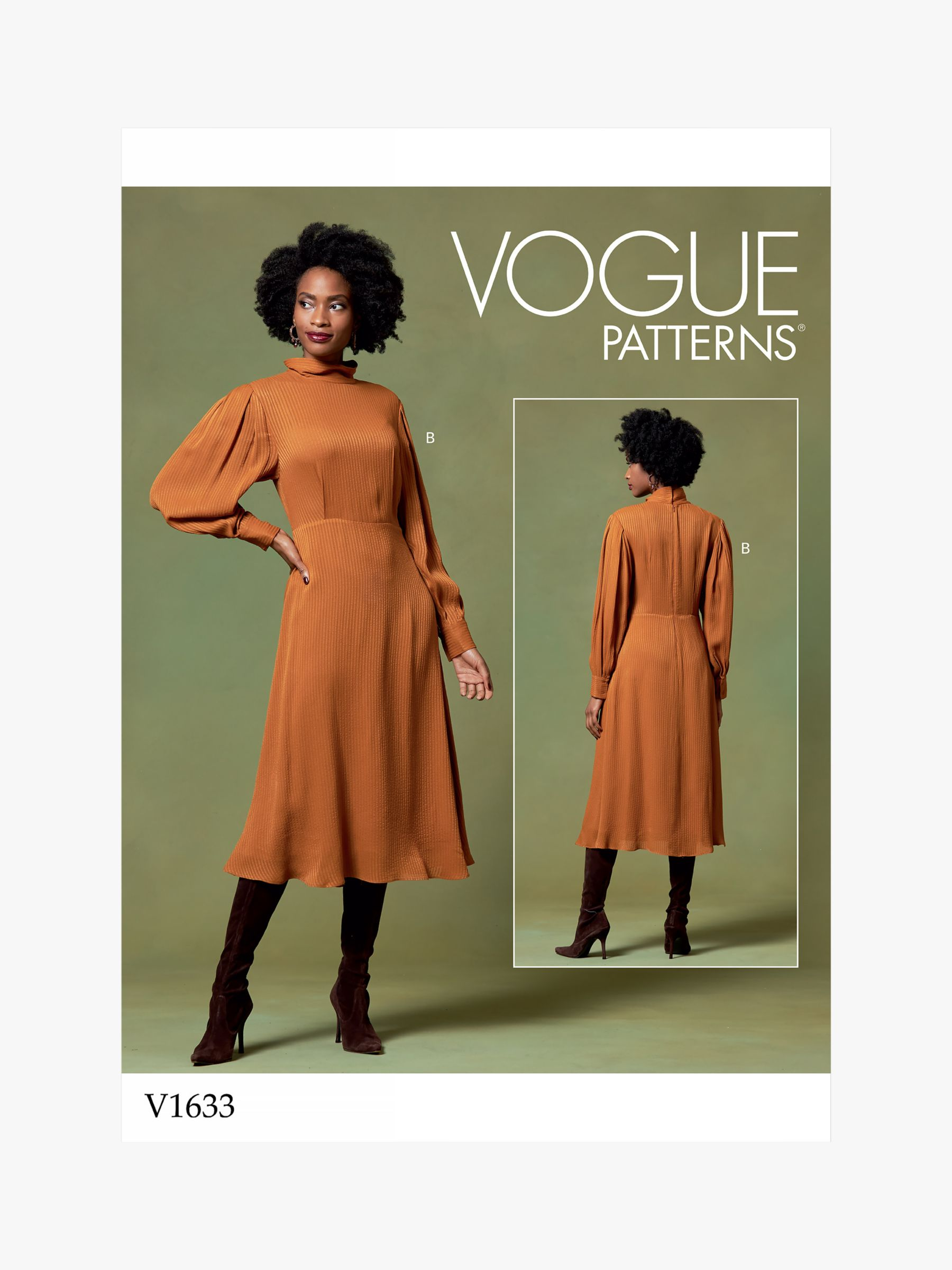Vogue Vogue Women's Dress Sewing Pattern, 1633