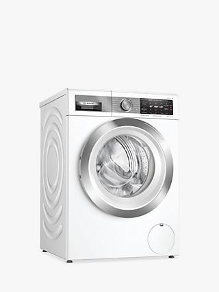 Bosch Serie 8 WAX32GH1GB Freestanding Washing Machine, 10kg Load, 1600rpm, A+++ Energy Rating, White