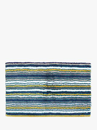 John Lewis & Partners Stripe Reversible Bath Mat