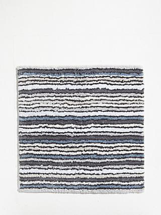 John Lewis & Partners Stripe Reversible Shower Mat