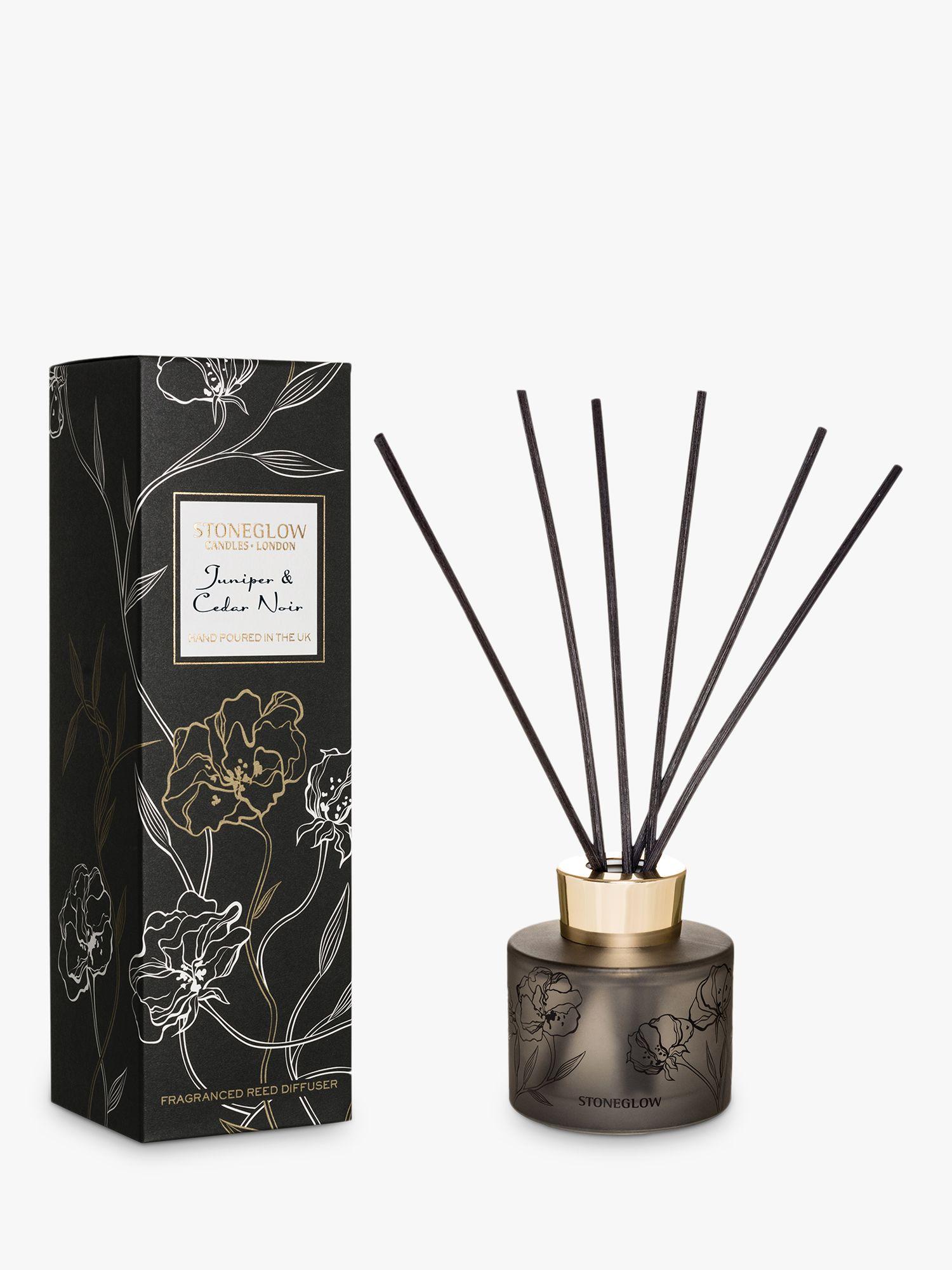 Stoneglow Stoneglow Juniper & Cedar Noir Reed Diffuser, 120ml