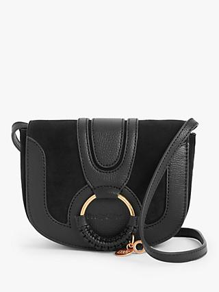 See By Chloé Mini Hana Suede Leather Satchel Bag