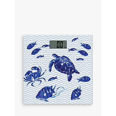 John Lewis & Partners Coastal Bathroom Scales