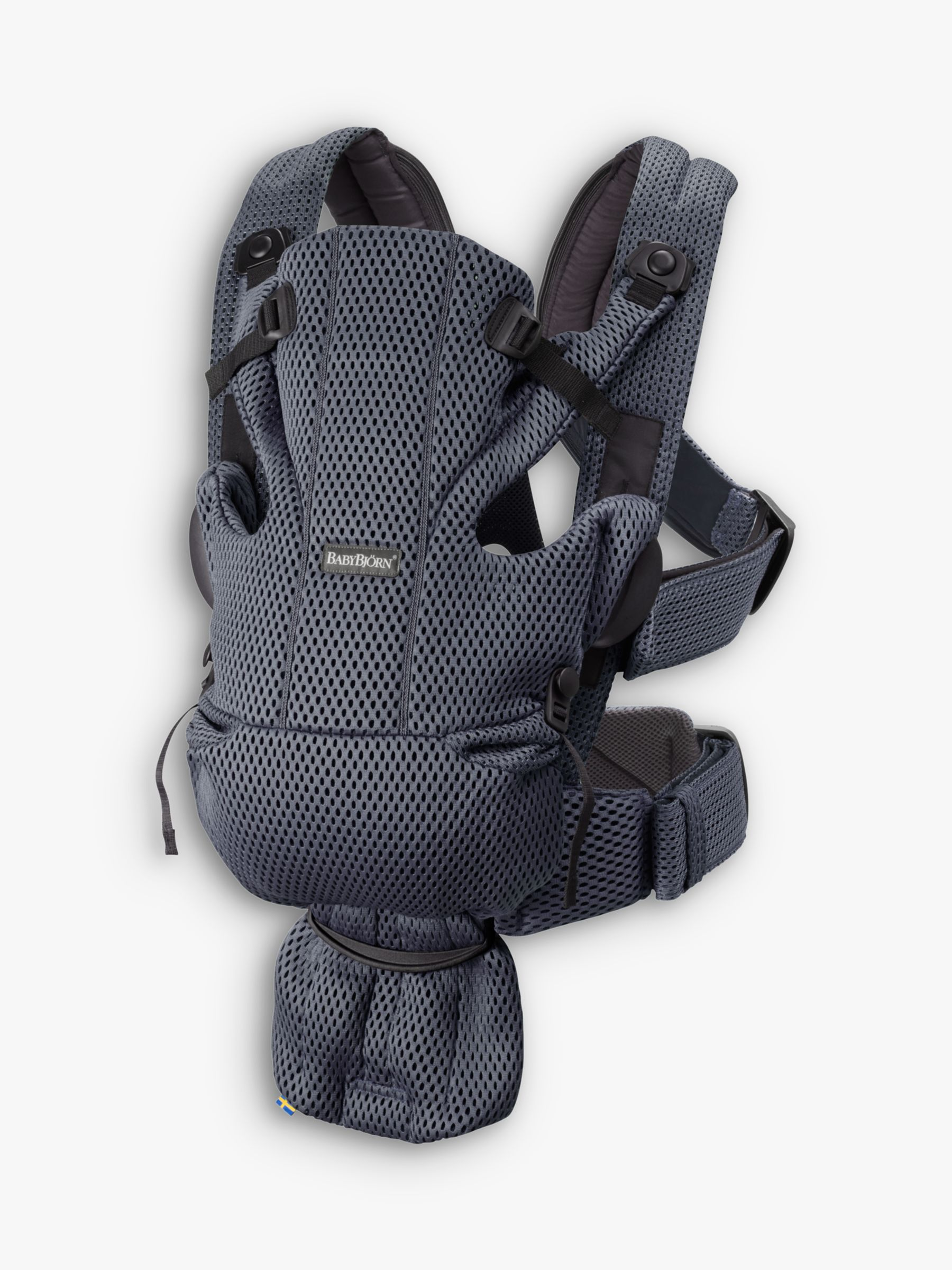 BabyBjorn BabyBjörn Move with 3D Mesh Baby Carrier, Anthracite