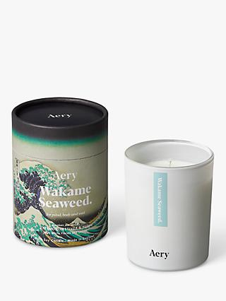 Aery Wakame Seaweed Scented Candle, 533g