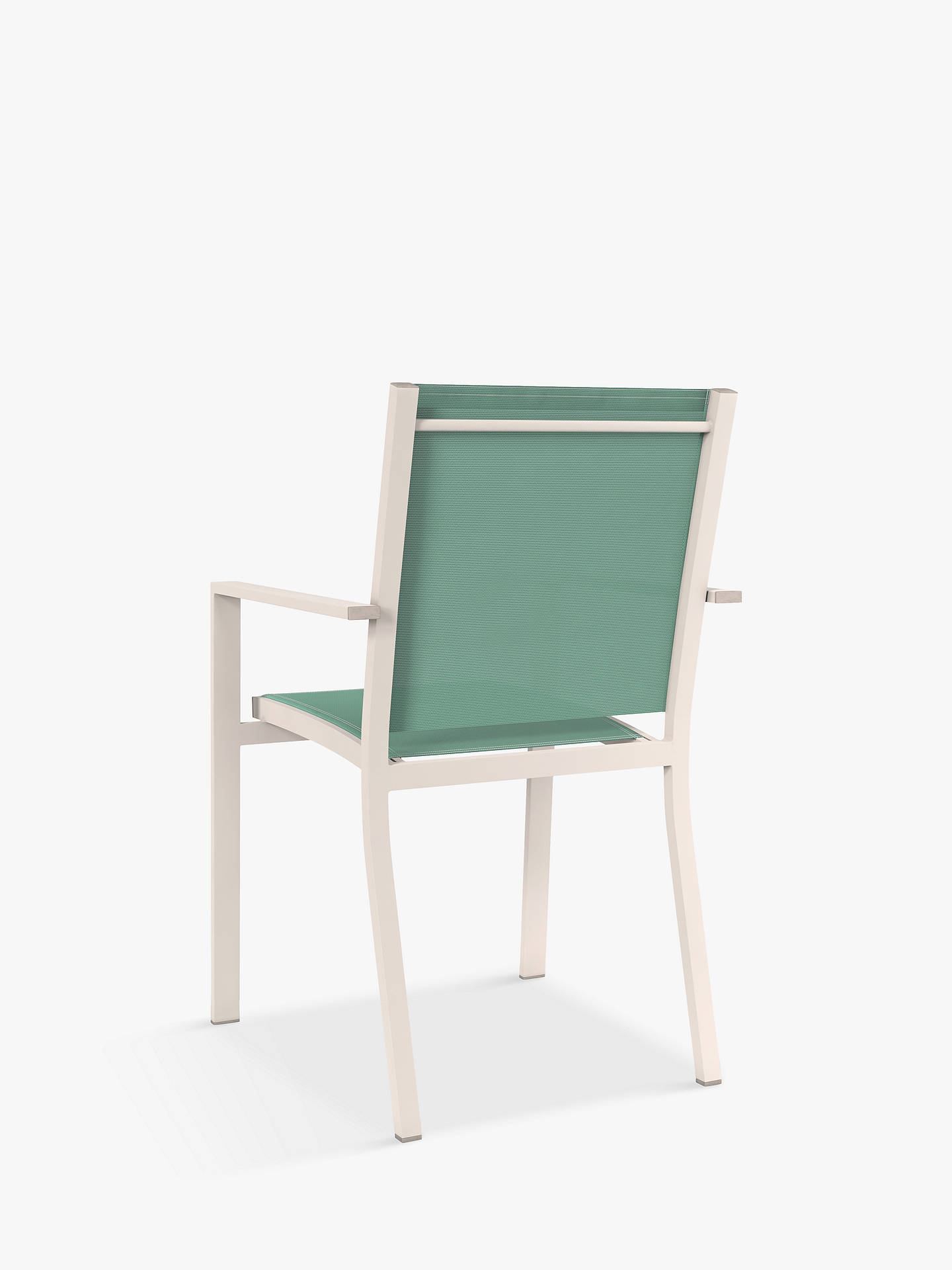 Buy John Lewis & Partners Miami 4-Seat Garden Dining Table & Chairs, Putty/Aegean Online at johnlewis.com