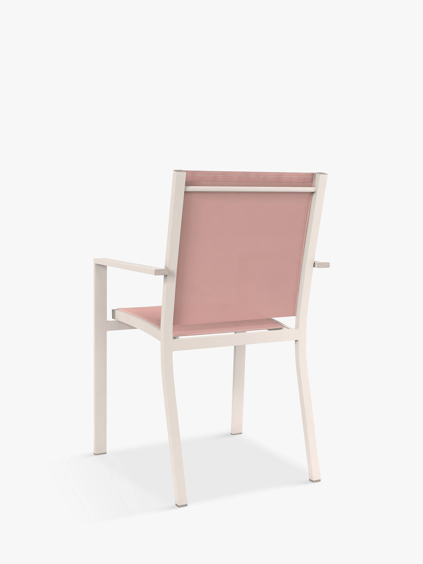 Buy John Lewis & Partners Miami 4-Seat Garden Dining Table & Chairs, Putty/Terracotta Online at johnlewis.com