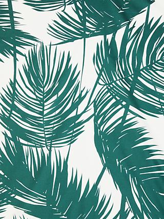 Spendlove Large Palm Leaves Print Fabric, Neutral