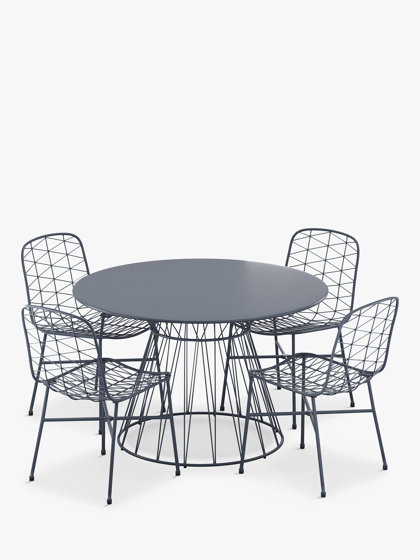 John Lewis & Partners Ray 10-Seat Garden Table & Chairs Set