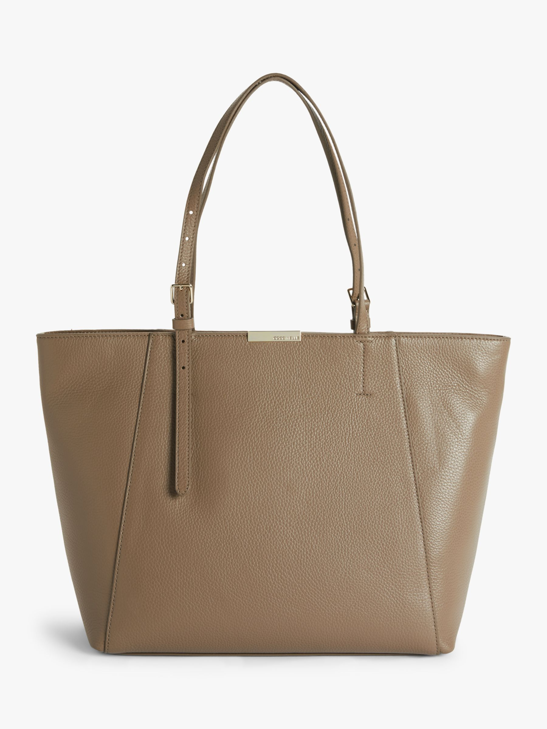 Coccinelle Coccinelle Cher Leather Tote Bag