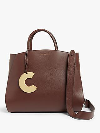 Coccinelle Concrete Leather Cross Body Bag