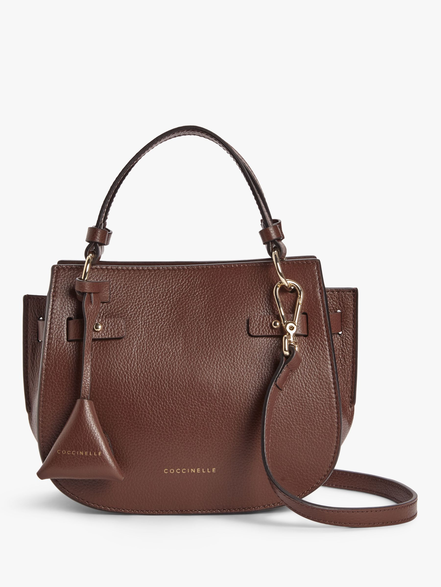 Coccinelle Coccinelle Didi Tumbled Leather Grab Bag