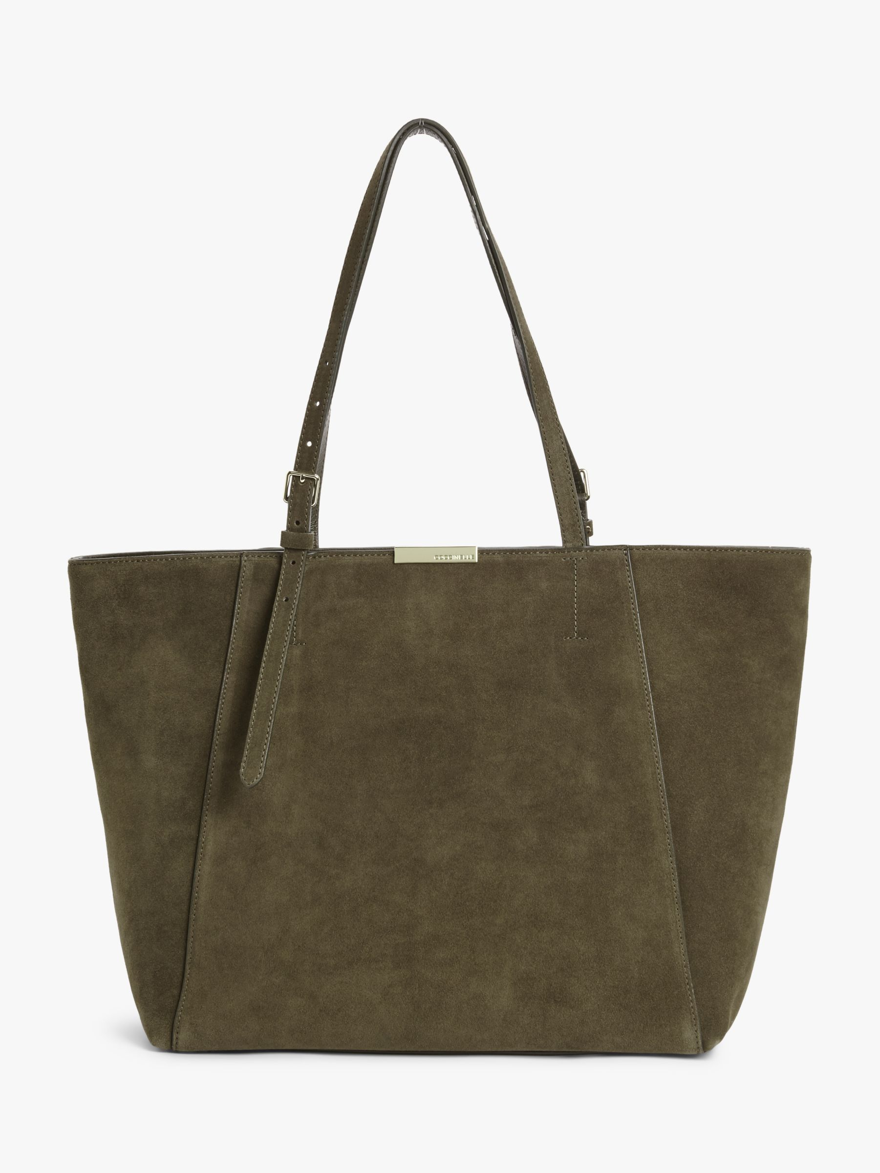 Coccinelle Coccinelle Cher Suede Tote Bag