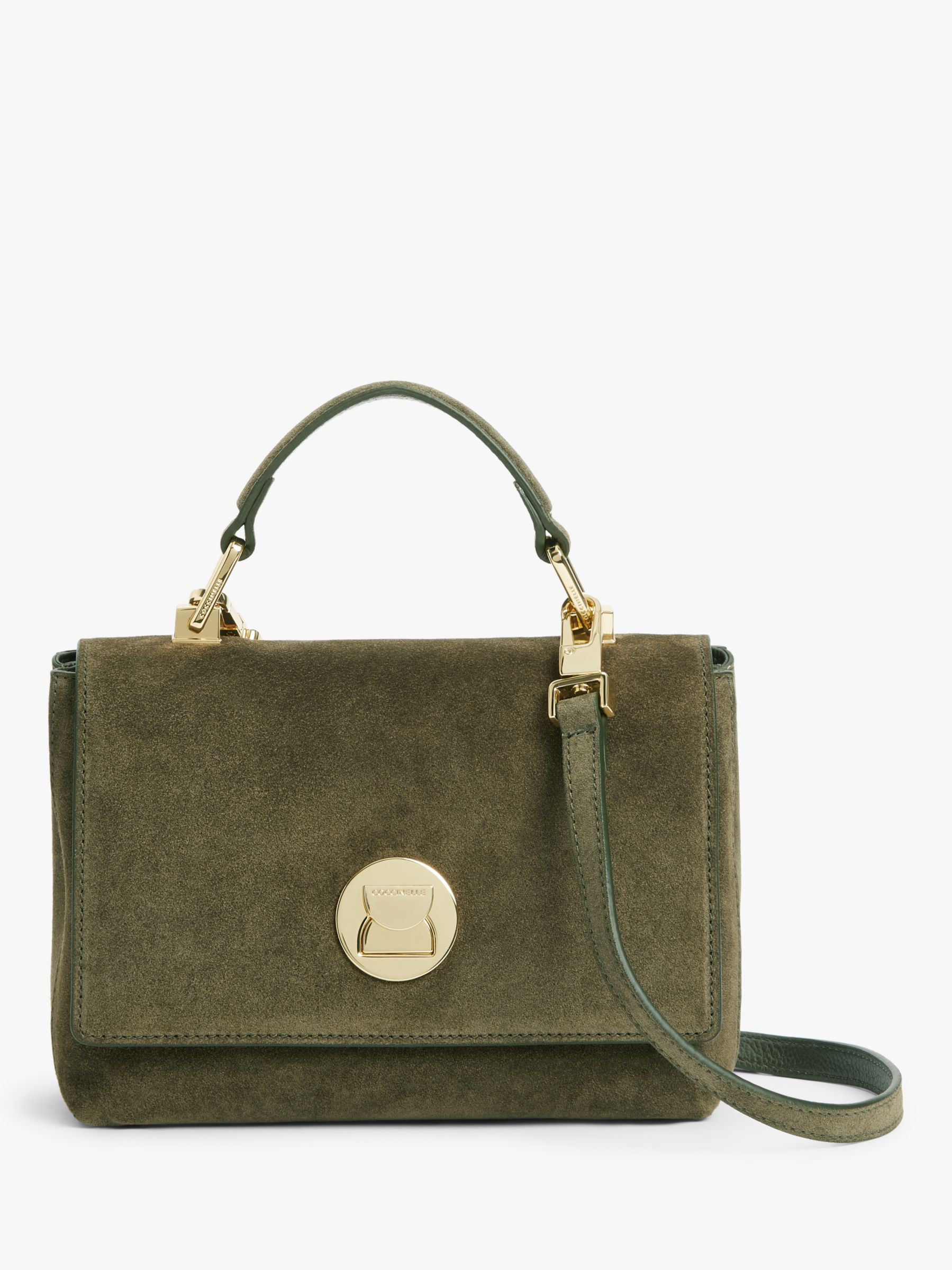 Coccinelle Coccinelle Liya Suede Cross Body Bag