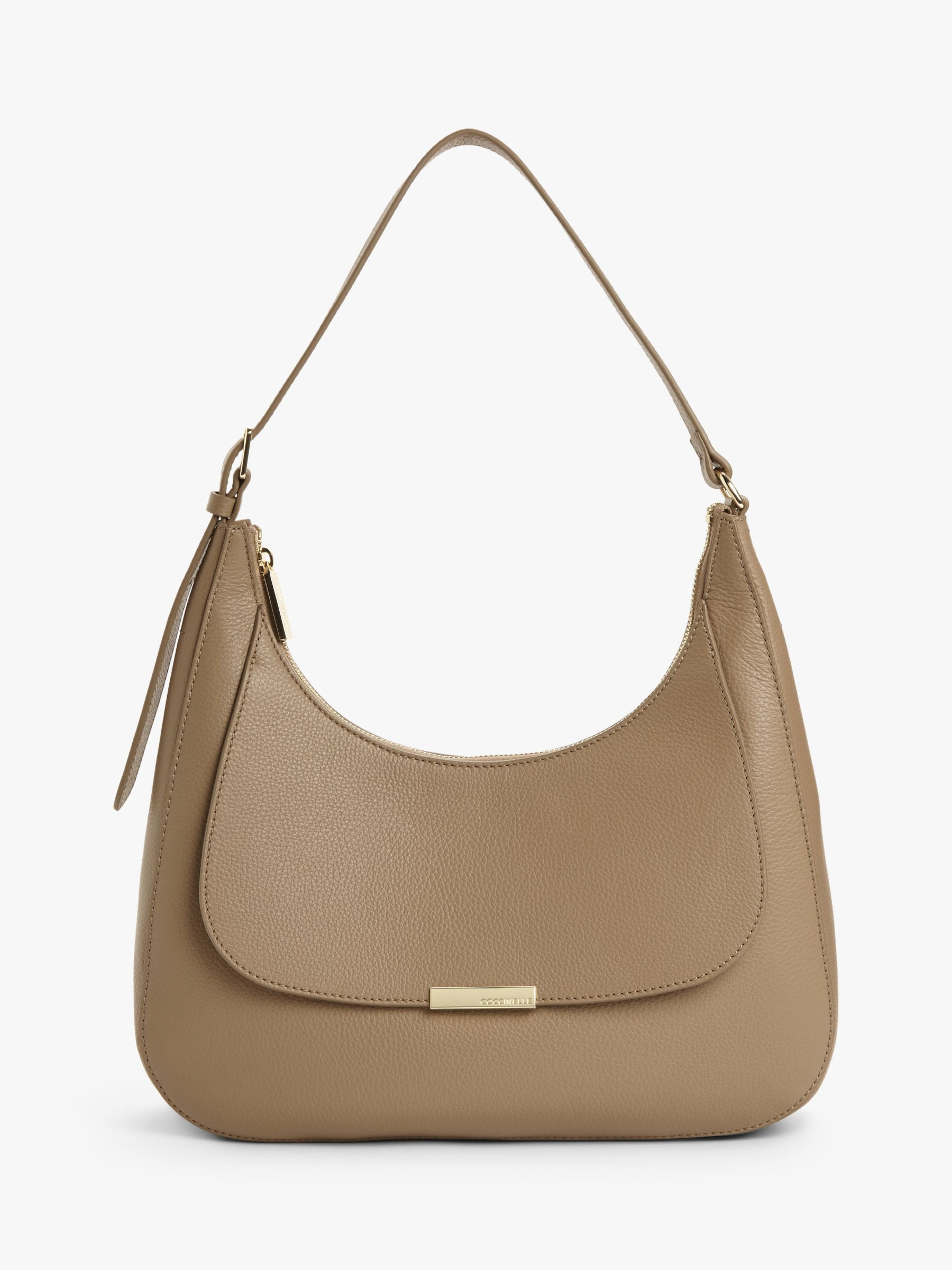 Coccinelle Coccinelle Cher Leather Shoulder Bag