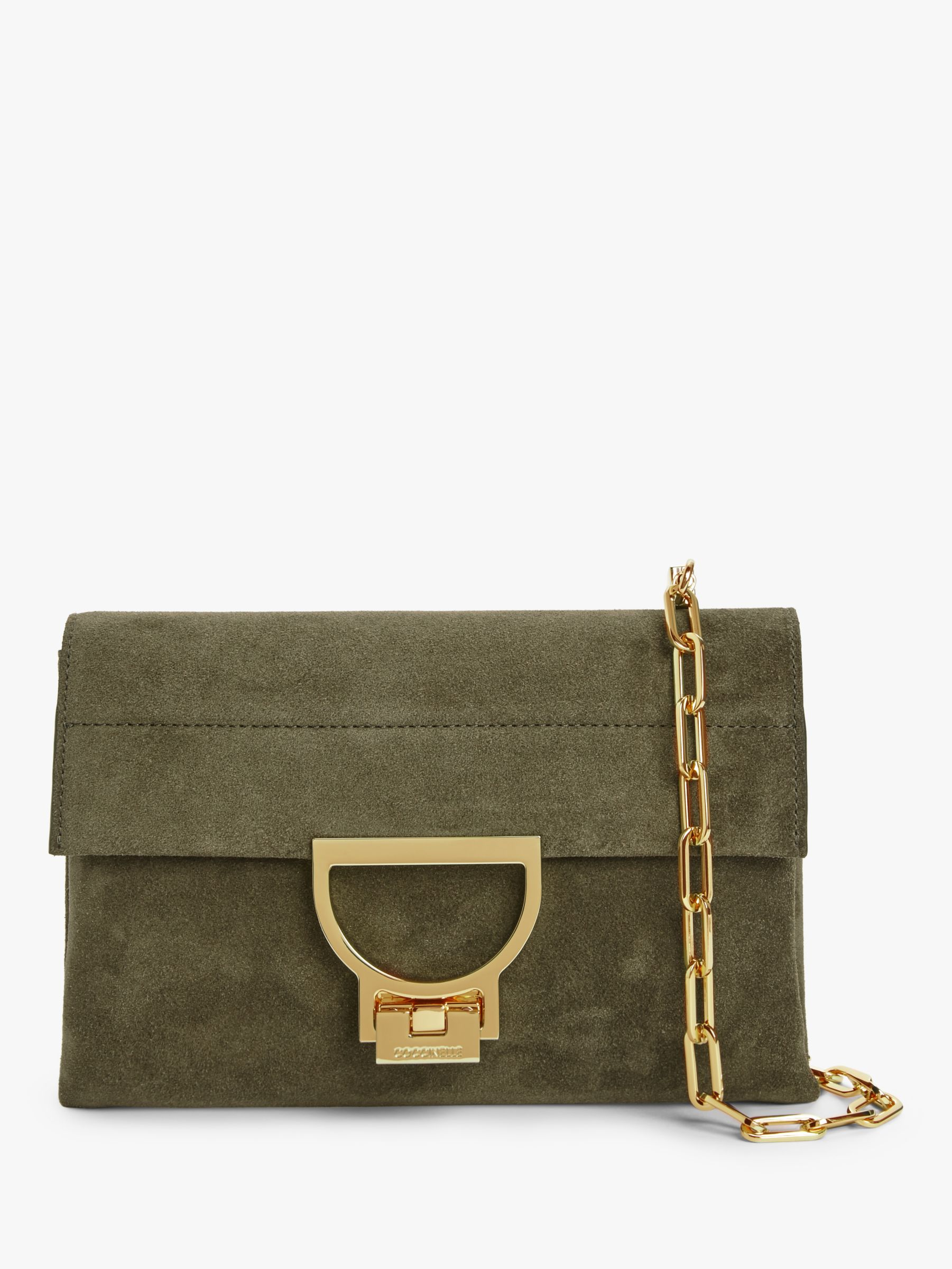 Coccinelle Coccinelle Arlettis Suede Cross Body Bag