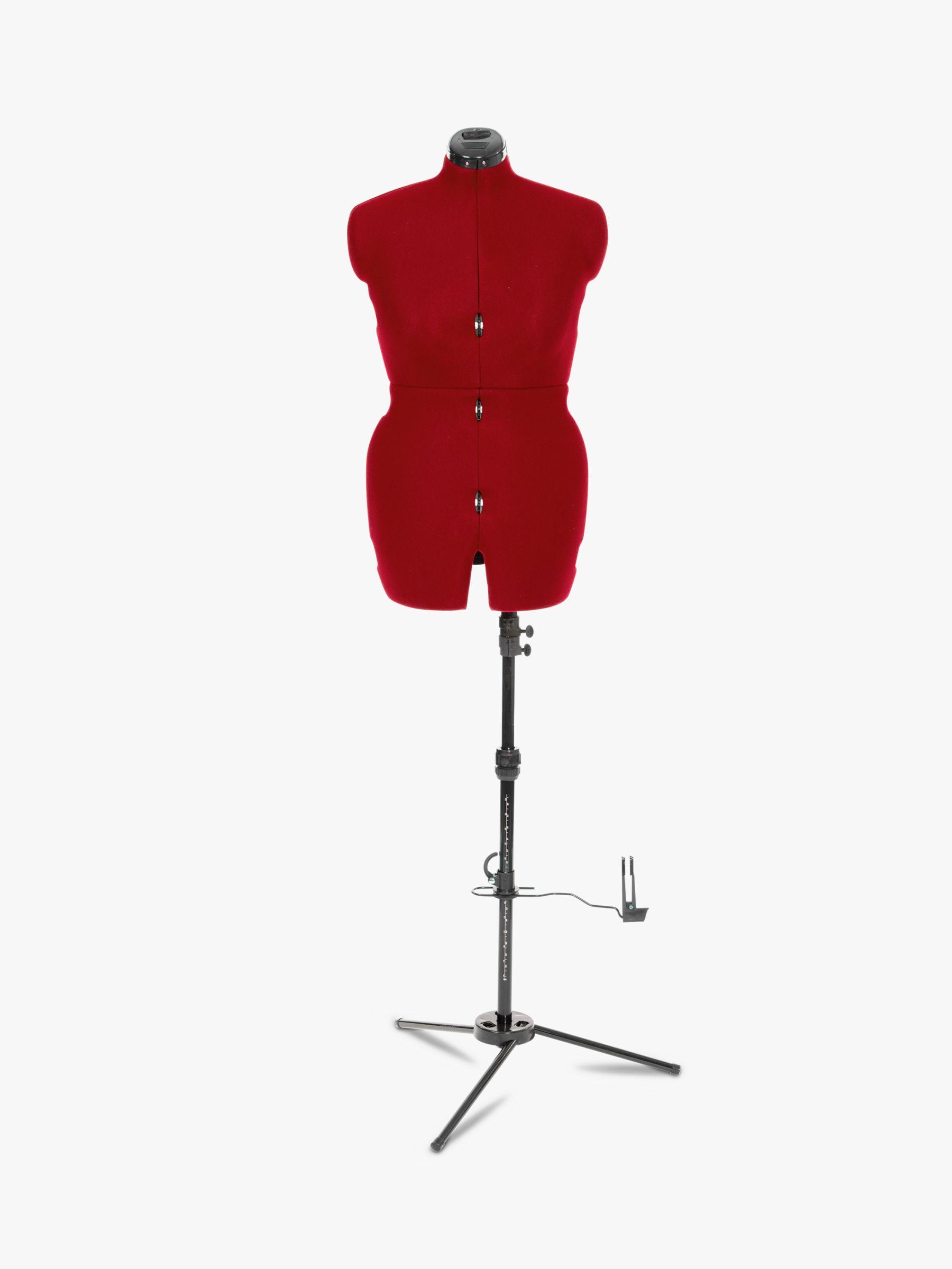 Adjustoform Adjustoform Sew Deluxe Dressmaking Mannequin, Cherry