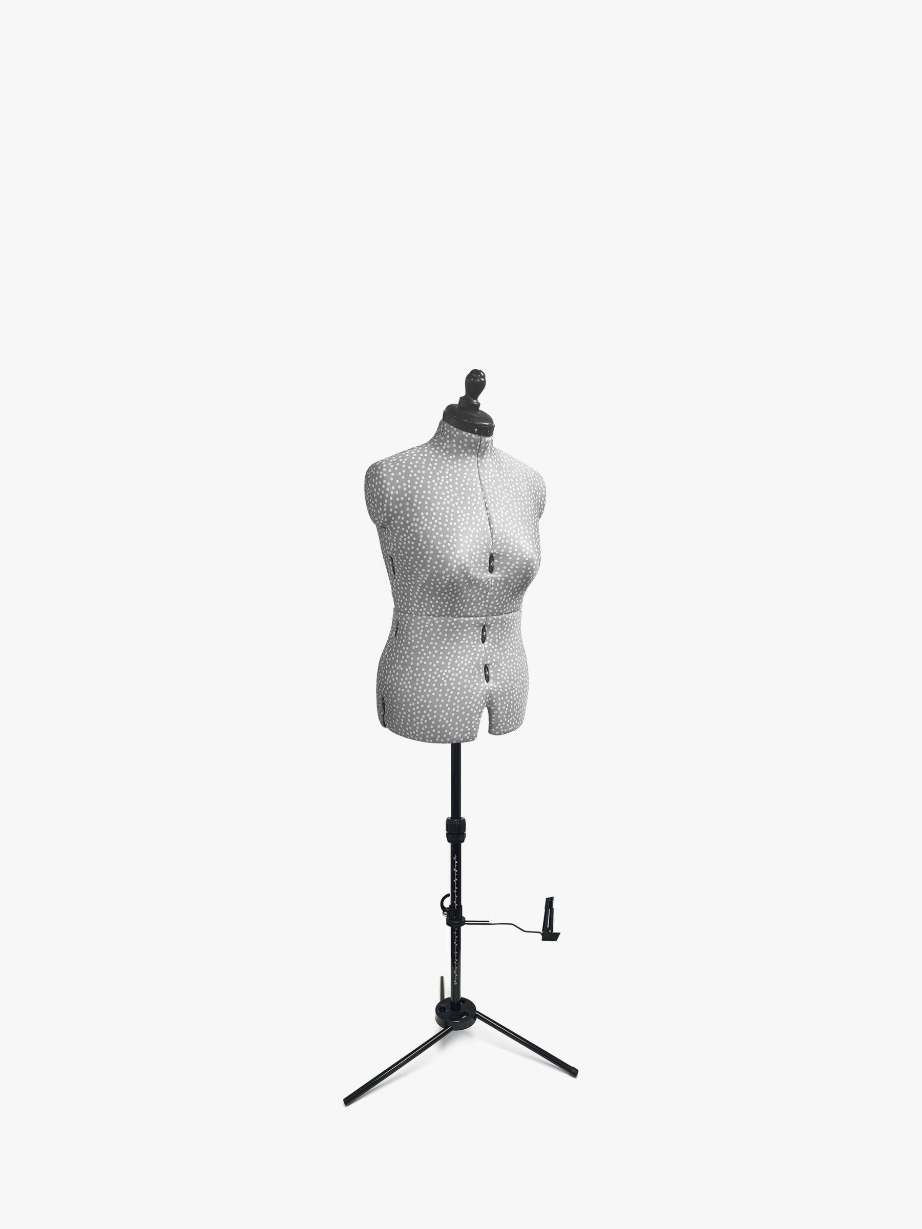 Adjustoform Adjustoform Polka Dot Dressmaking Mannequin, Grey