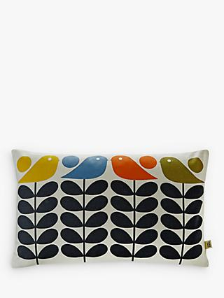 Orla Kiely Early Bird Stem Rectangular Cushion, Multi