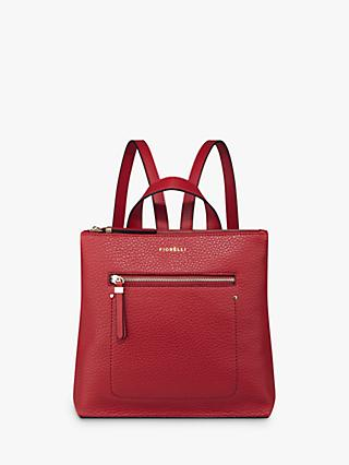 Fiorelli Finley Mini Zip Top Backpack, Red